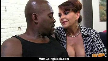 Black guys fucking their mom mature
